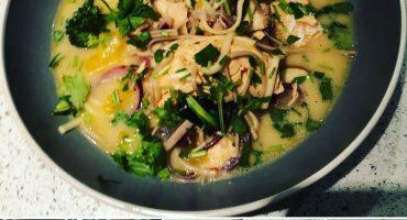 Chilli Salmon/Tofu Ramen